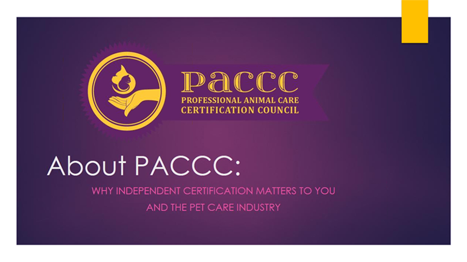 About Paccc Why Independent Certification Matters To You And The